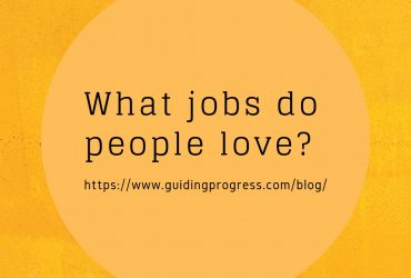 What jobs do people love?