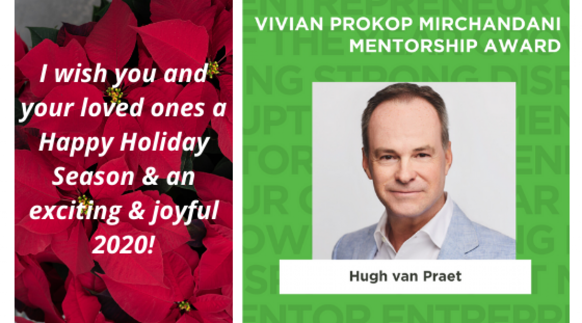 Finding a mentor, but first, I wish you a Happy Holiday Season!